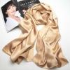 customed Ladies fashion blank silk scarves 2015