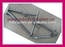 TSB-SUM1001 custom titnaium mountain bike frame full suspension