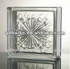 clear /colored glass bricks/decorative glass blocks/seawave
