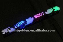 Happy Hallowmas logo printed foam stick baton