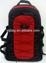 Durable nylon travel backpack with nice color combination