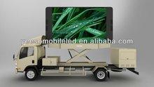 Innovative outdoor mobile led advertising digital trucks for sale