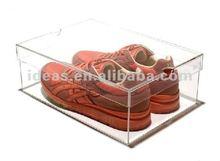 Crystal simple Acrylic blank shoe box
