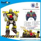 Kids rc fighting robot toy