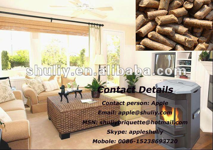Free Standing Portable Biomass Pellet Stove 0086-15238693720