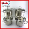 2012 new chinese stainless steel soup pot set