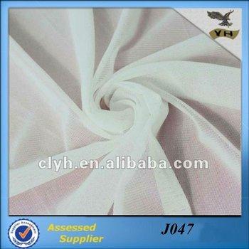 Spandex polyester dress lining fabric for wedding dress