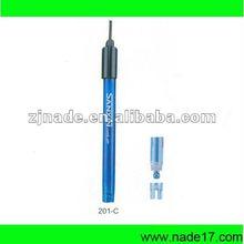 Nade instrumentos Lab partes y accesorios medidores de PH 201-C de plástico del electrodo de combinación