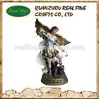 2014 Hot Sale Resin Angel Statue, Resin Arcangel For Christmas Decoration
