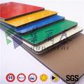 PVDF decorativa / PET Recubrimiento construcción edificio material panel alucobond alta calidad