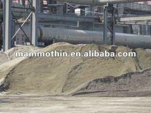 Granulé de haut fourneau laitier pour construction et de ciment ( GGBFS )
