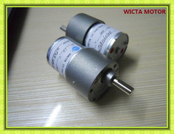 Low RPM High Torque Small 12v electric motor gearbox