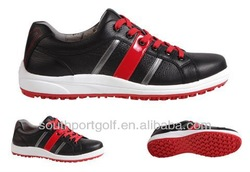 mens waterproof immovable spikes casual golf shoes SX0950