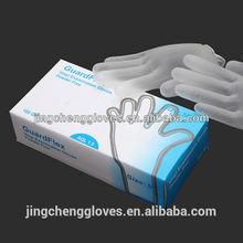 disposable hair dying gloves/non sterile hair salon disposable vinyl gloves manufacturer