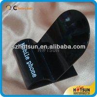 custom black acrylic cell phone/digital camera articles holder countertop display