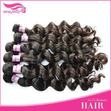 2012 New Style!!! High Quality Full Cuticle 100% Virgin Cheap Brazilian Hair Weaving