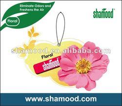 Customized Hanging Car Paper Air Freshener
