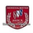 Custom car badge emblem with buick logo