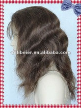 New arrival top selling long black deep wave human hair wigs 100% indian remy full lace wigs long black deep wave human hair wig