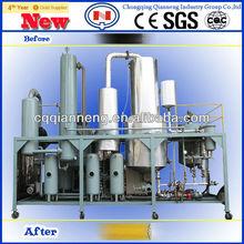 2012 new waste engine oil distillation machine(QZF-I)