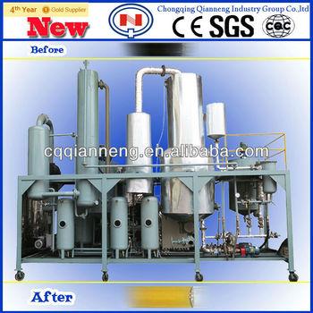 new waste engine oil distillation machine(QZF-I)