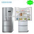Bcd-360 libre de heladas de lado a lado del refrigerador( de acero inoxidable de color, neto 360l)