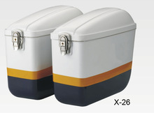 X-26 Motorcycle side box Police motorcycle part