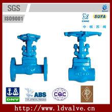 "China Brand Good Quality 1/2""-2"" ANSI 800Lb High Pressure Forged Steel Hard Sealing Gate Valve"