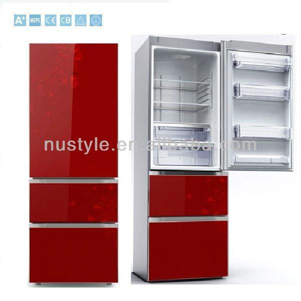 Холодильники красного цвета цена фото