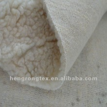 thick polyester berber fleece fabric for winter wear