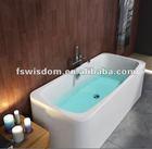 2013 Newest Product Freestanding Acrylic Whirlpool Bathtub WD6021