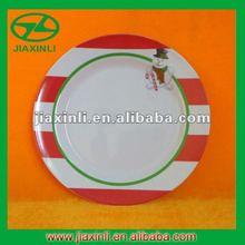 9''/11'' Melamine Christmas Plate