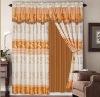 yarn dyed jacquard window curtain