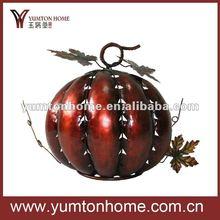 metal harvest pumpkin craft