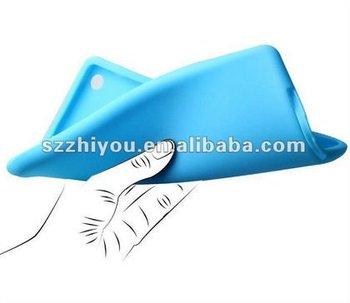 silicone plain case for Ipad mini