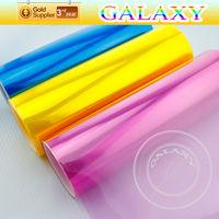 hot sell car decoration products glossy and matt color auto light wrap vinyl film headlight film