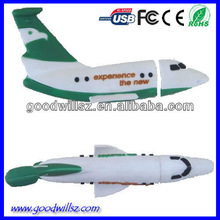 Plane Shape Flash USB Drive2.0 for Promotional Gift