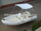 New model fiberglass boat (4.8m) with sunshade