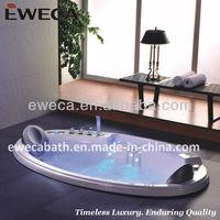 Indoor whirlpool bathtub