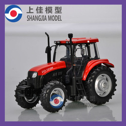 1:24 YTO Diecast Tractor Model farm machinery model-diecast metal tractor model manufacturer