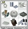 anodizadoirregular de extrusión de perfil de aluminio fabricante de zhejiang desde ningbo