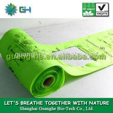 Environmentally Friendly Plastic T-Shirt Bag-100% biodegradable dog poop bags