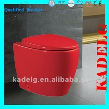 2013 New Floor mounted Red Color Toilet