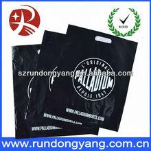 2013 fashionable die cut plastic bag