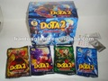 LTP-011 newest DOTA 2 popping candy with lollipop with phone sticker