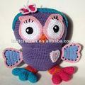 Feito à mão crochet brinquedo coruja, crochet brinquedos e bonecas made in china ( kcc - ct00891 )