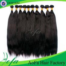 Grade AAAAA guangzhou factory cheap virgin 36 inch hair extension