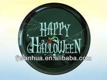 Melamine halloween plate