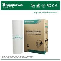 Riso RZ A3 Master / Digital Duplicator Master / Riso Master