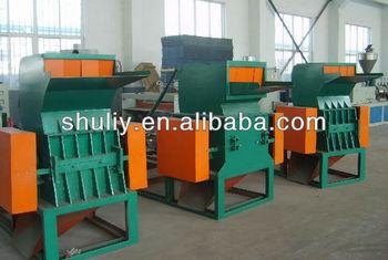 hot Plastic film washing machin/Waste plastic cleaning and crusher+0086 15838061730